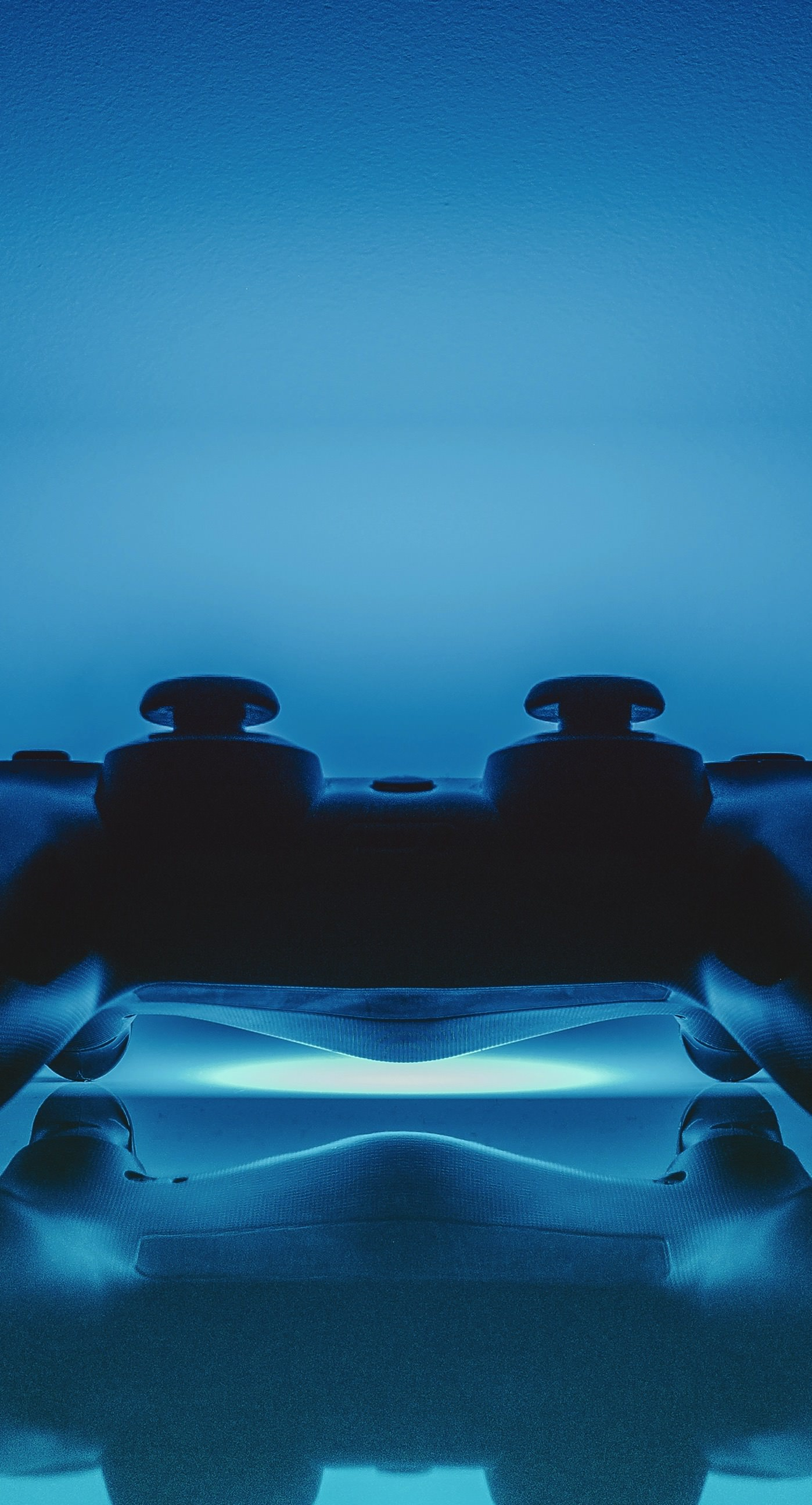 ps controller blue cool | wallpaper.sc iphone7plus