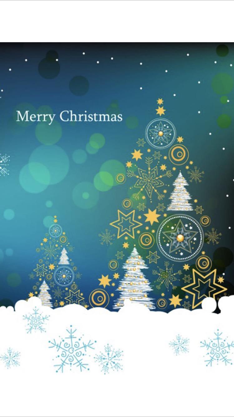 クリスマス ツリー Wallpaper Sc Iphone8壁紙