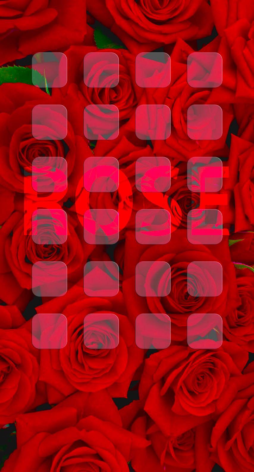 Redroseshelf IPhone 8 Wallpaper