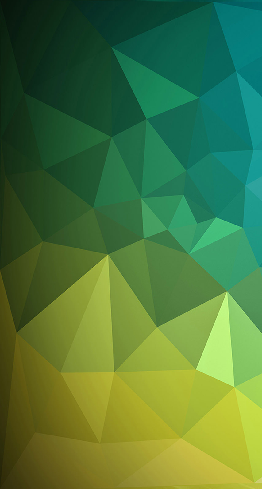 Green patterned wallpaper