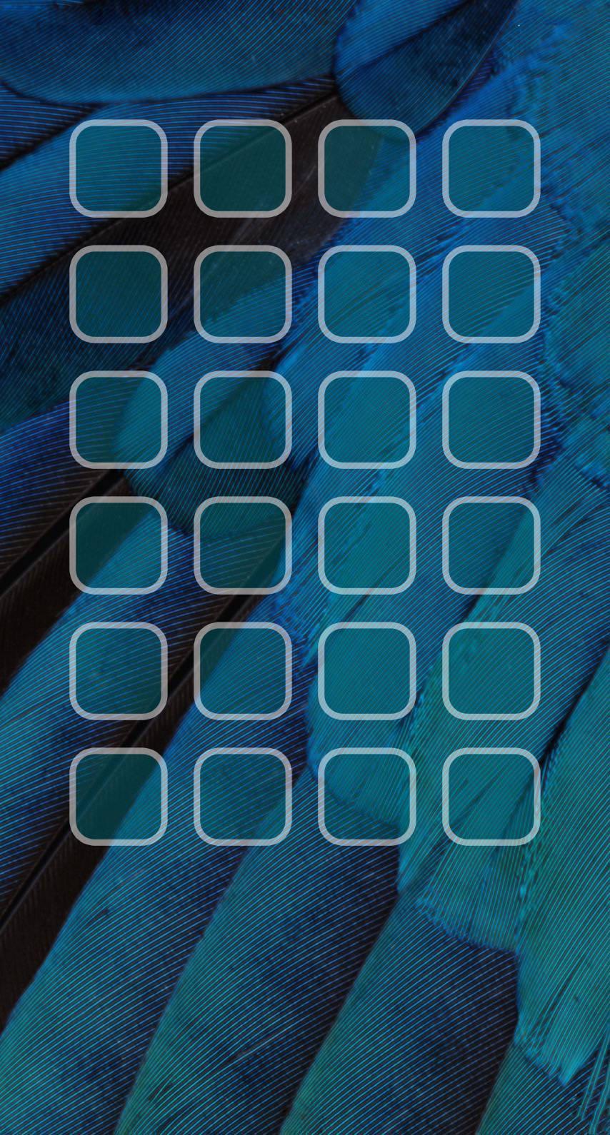 羽青緑棚クール Wallpaper Sc Iphone8壁紙