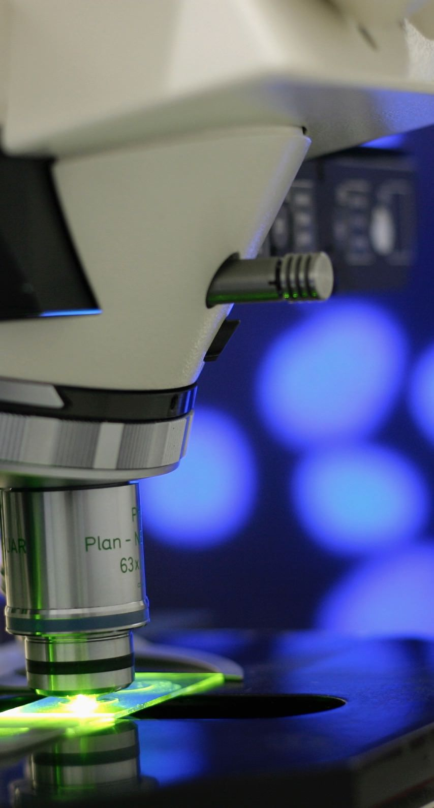 Microscope blue | wallpaper sc iPhone8