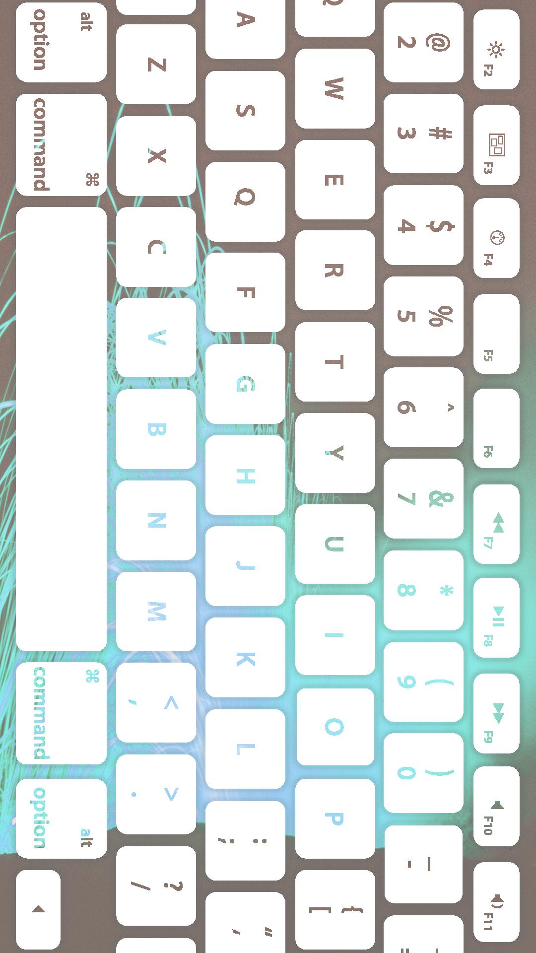キーボード青白 Wallpaper Sc Iphone8plus壁紙