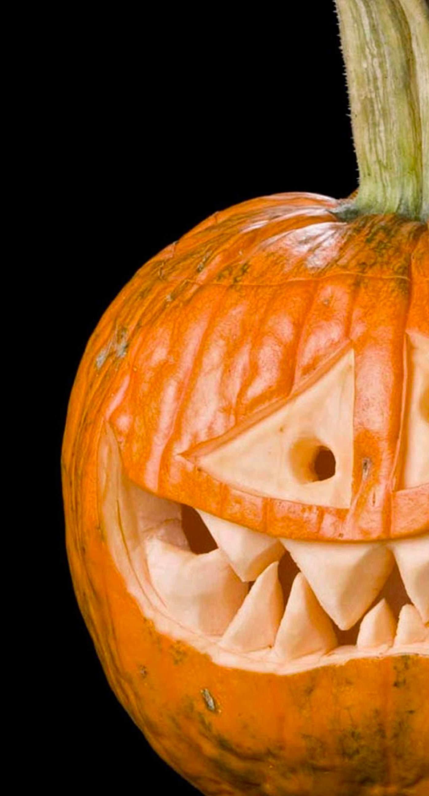 Halloween Pumpkin Head Wallpaper Sc Iphone8plus