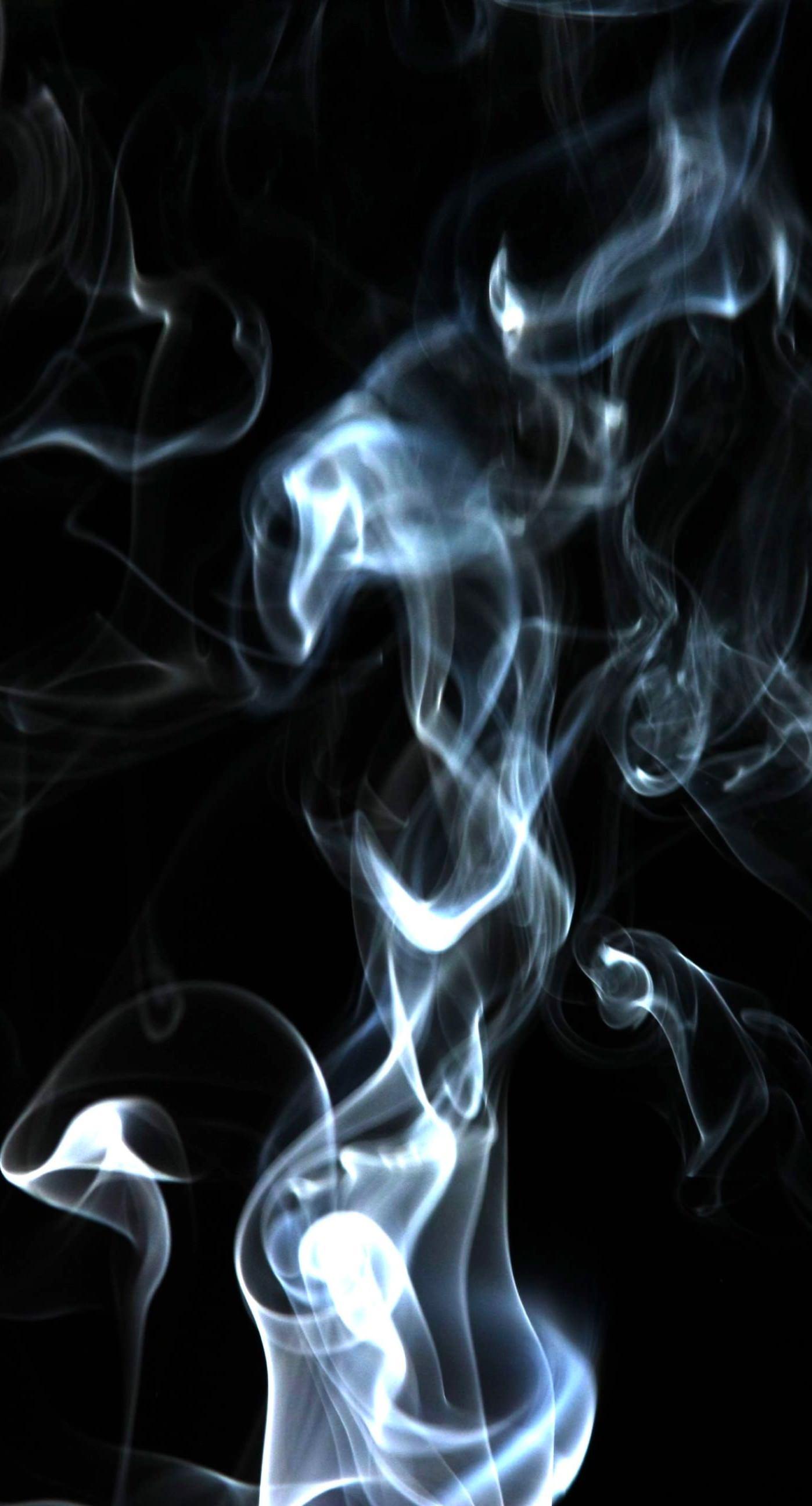 black smoke wallpaper iphone