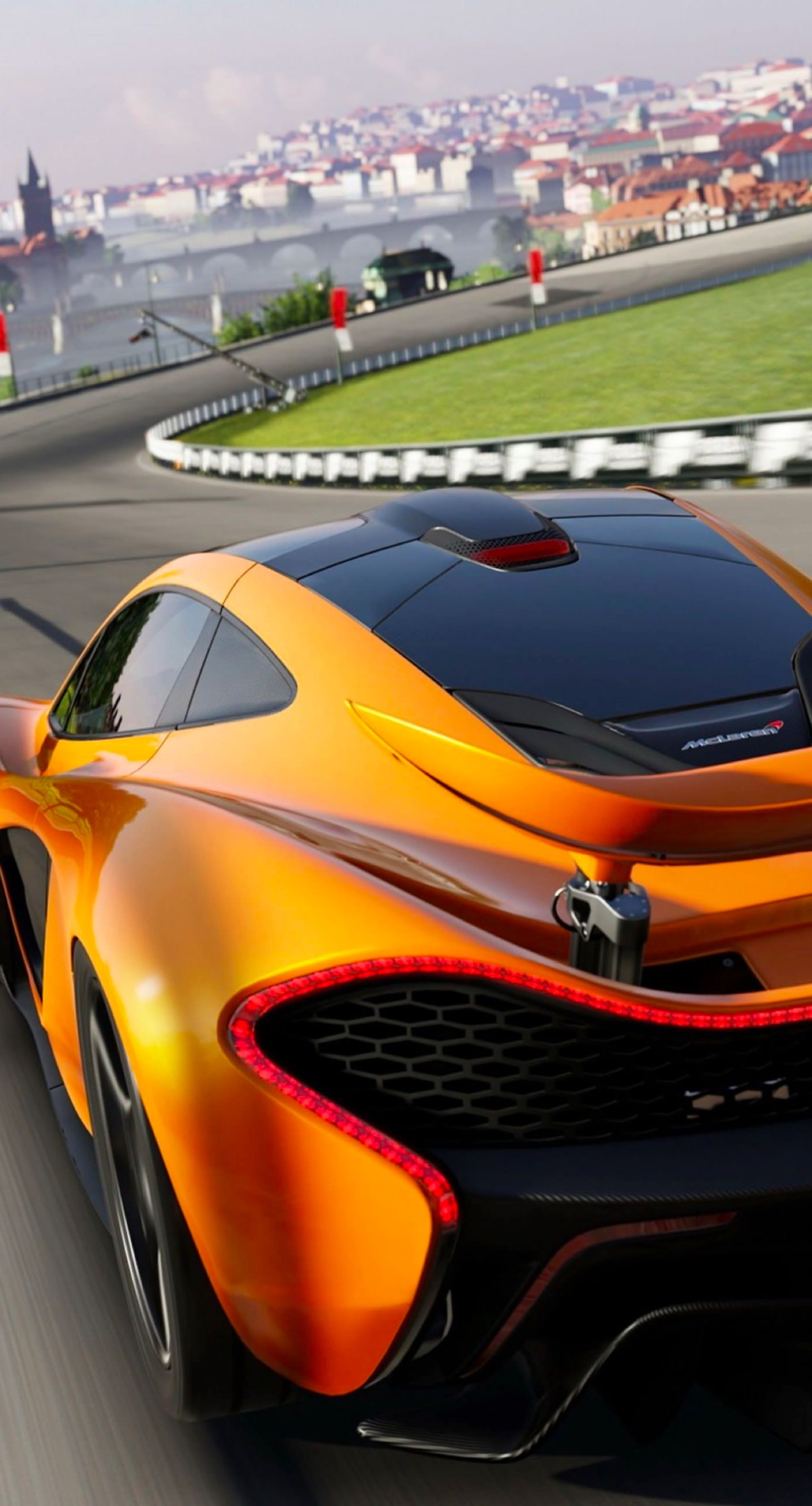 Vehicle Car Cool Orange Wallpaper Sc Iphone8plus
