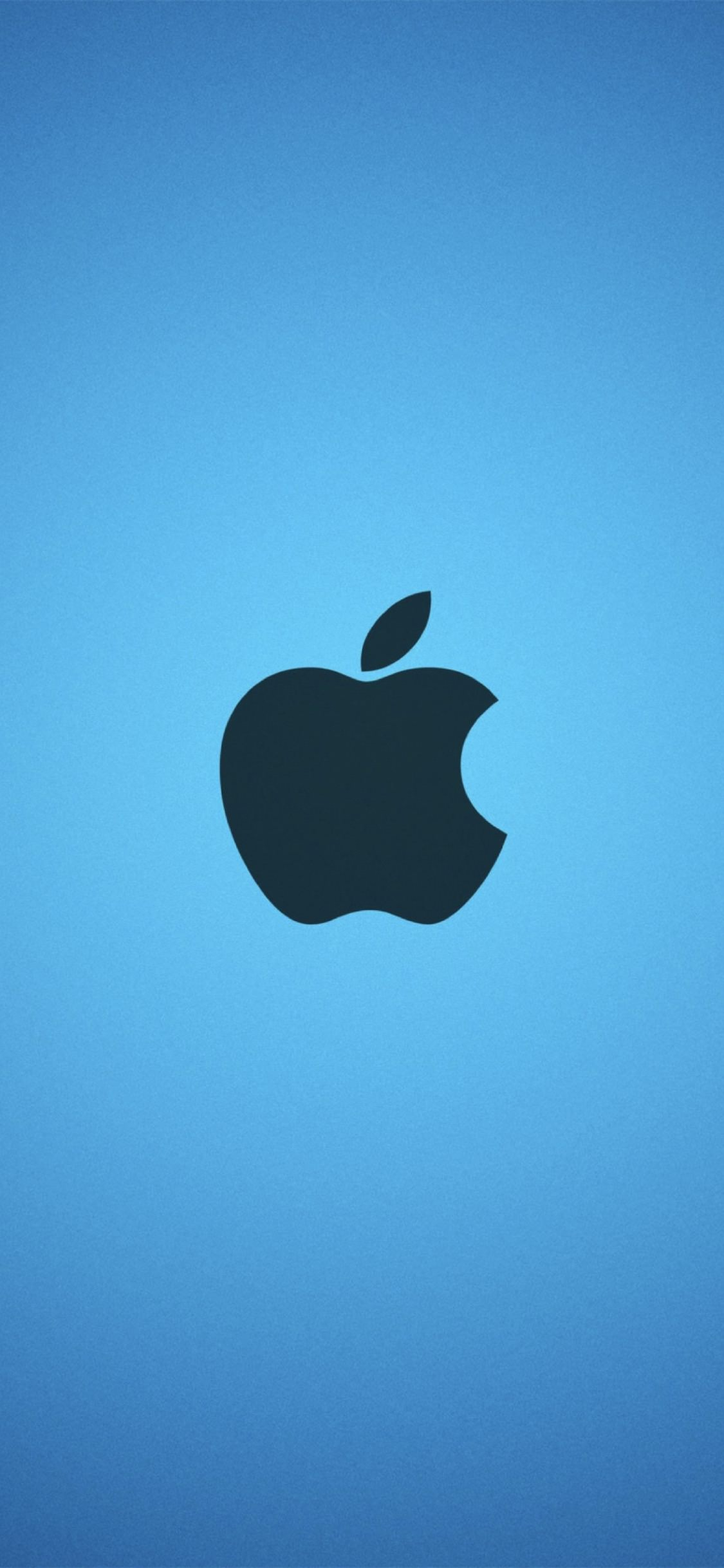 Apple Blue Wallpaper Sc Iphonexs