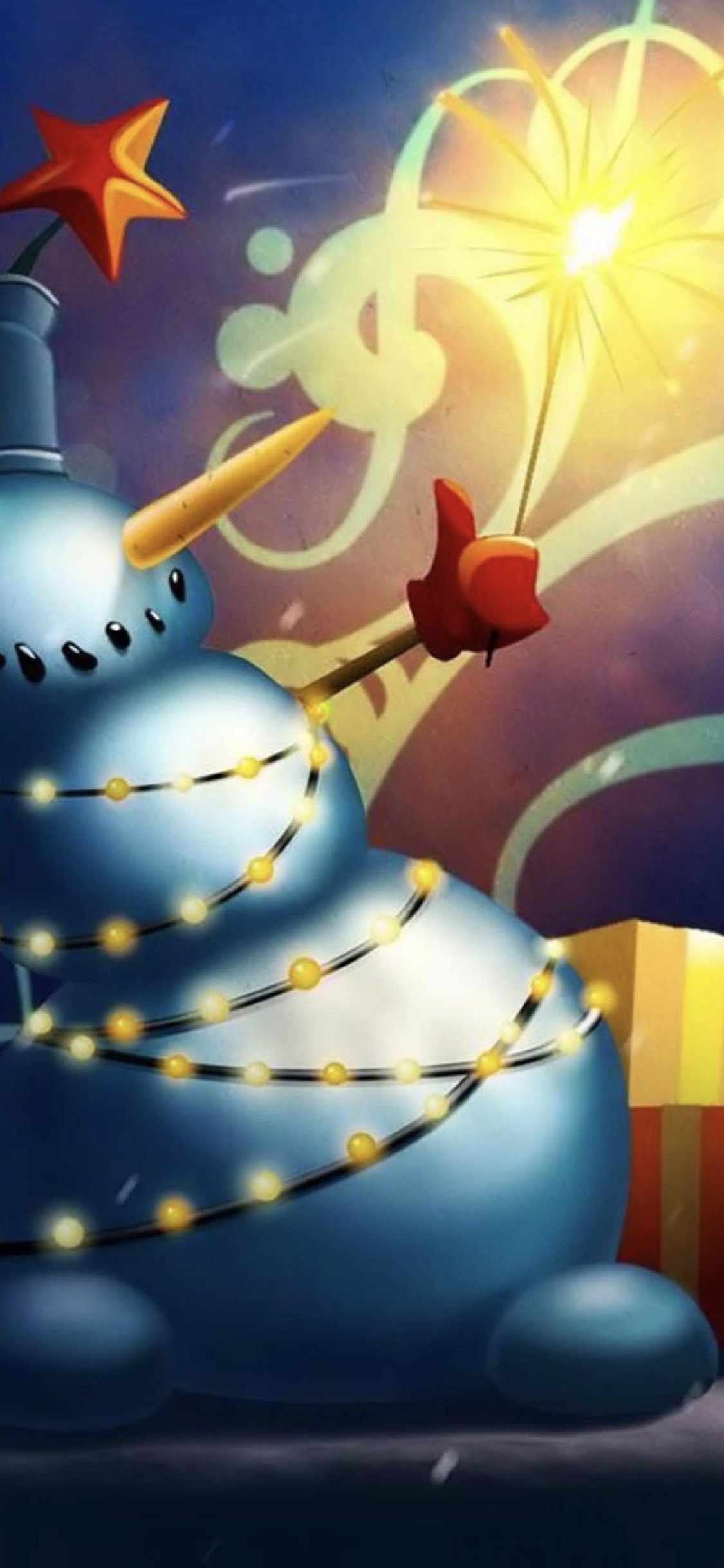 Christmas Snowman Wallpaper Sc Iphonexs