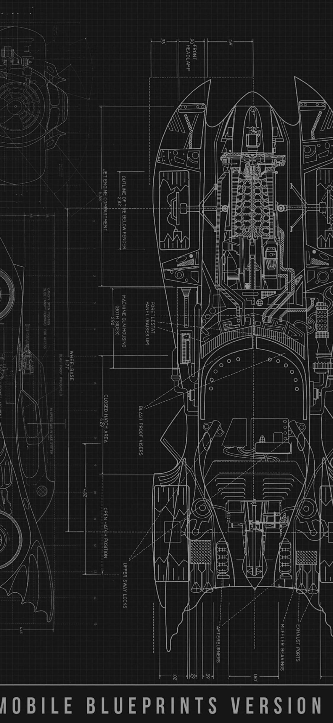 Cool Blueprint Black Wallpaper Sc Iphonexs