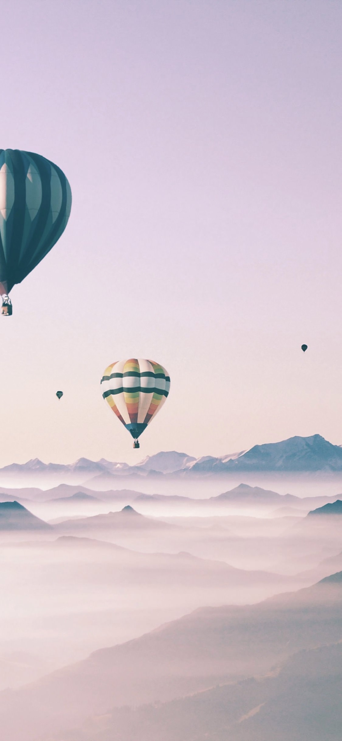 Cute Landscape Sky Balloon For Girls Wallpaper Sc Iphonexs