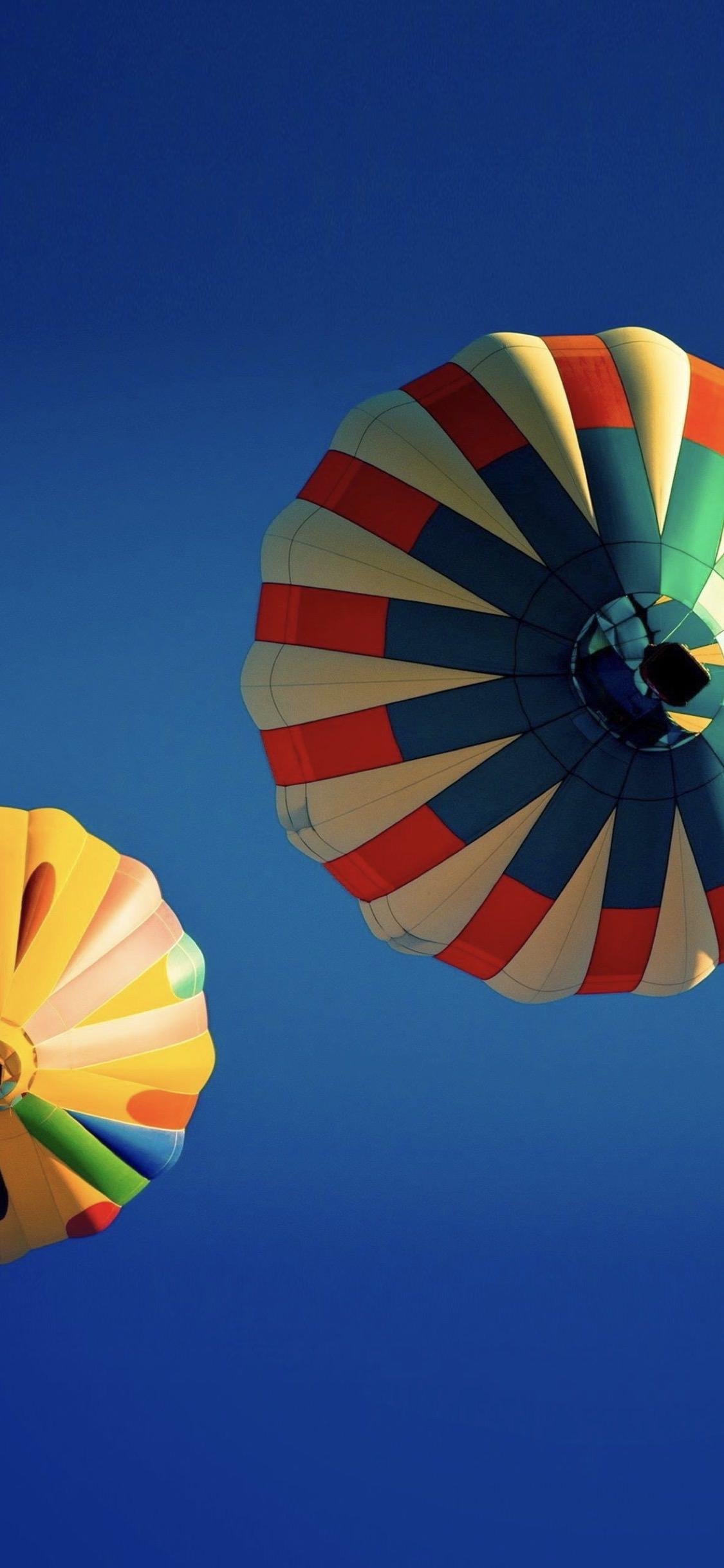 Landscape Colorful Balloon Wallpaper Sc Iphonexs