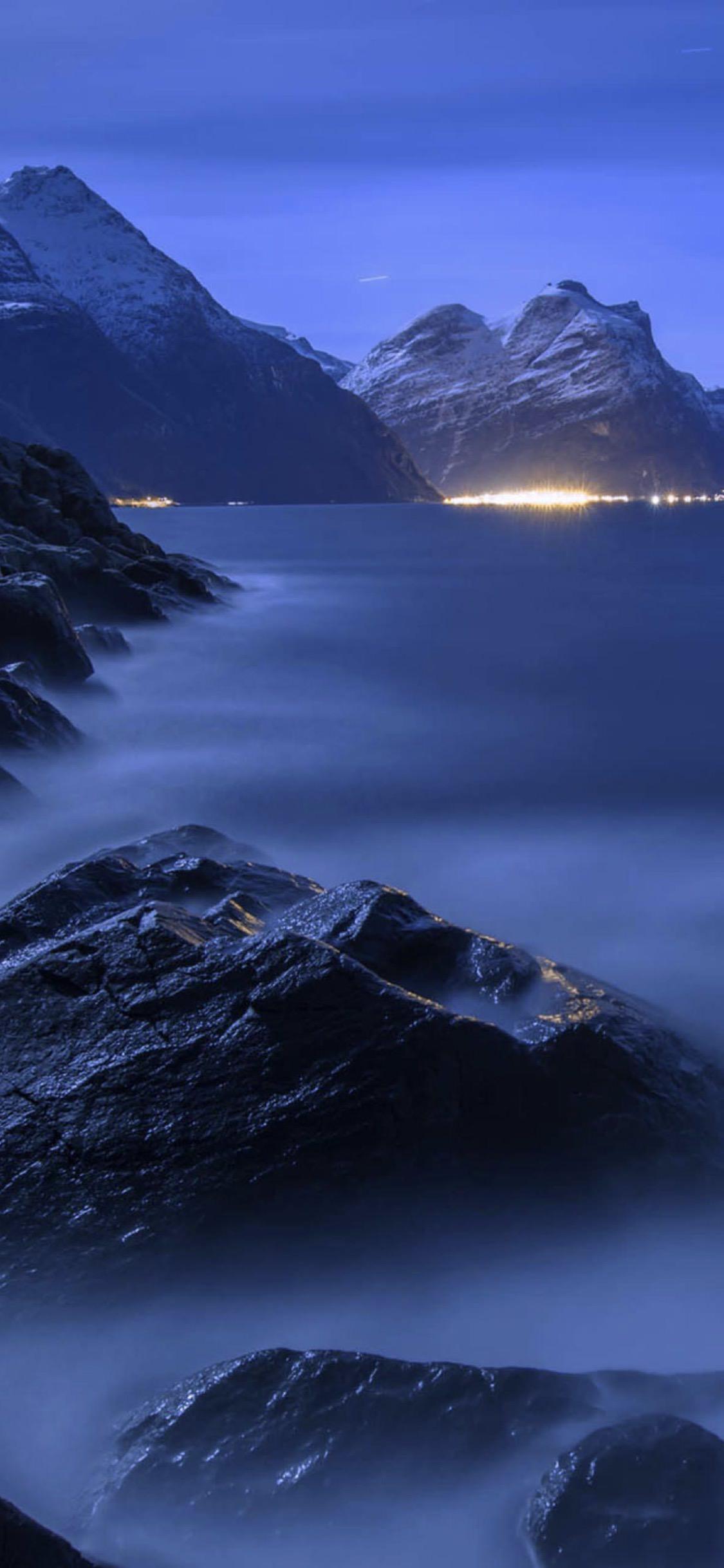Azul De La Nube Natural Wallpapersc Iphonexs