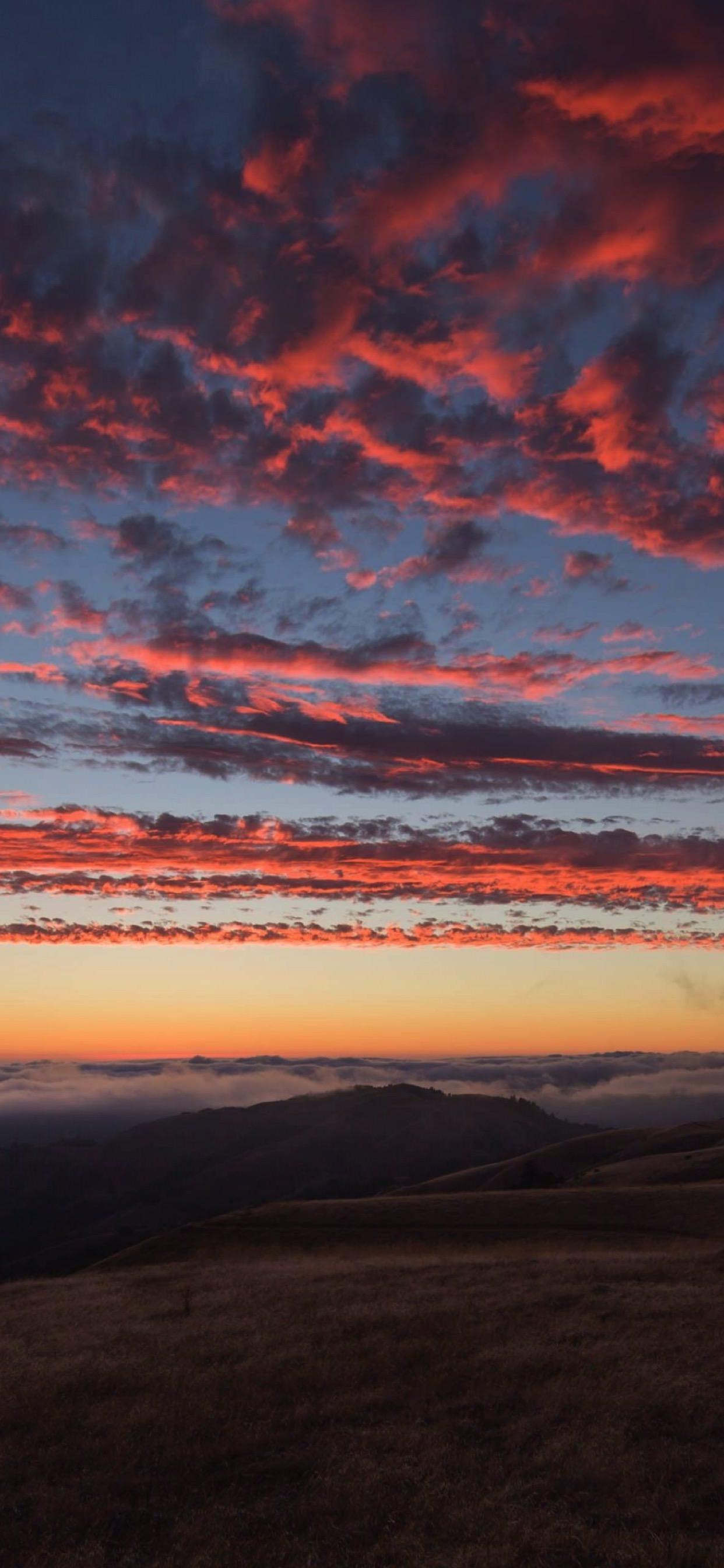 Scenery Sky Sunset Wallpaper Sc Iphone Xs Max