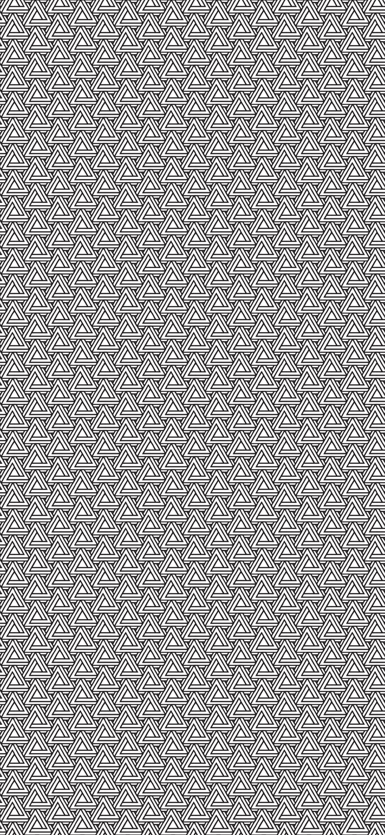 Pattern Triangle Black And White Wallpapersc Iphone Xs Max