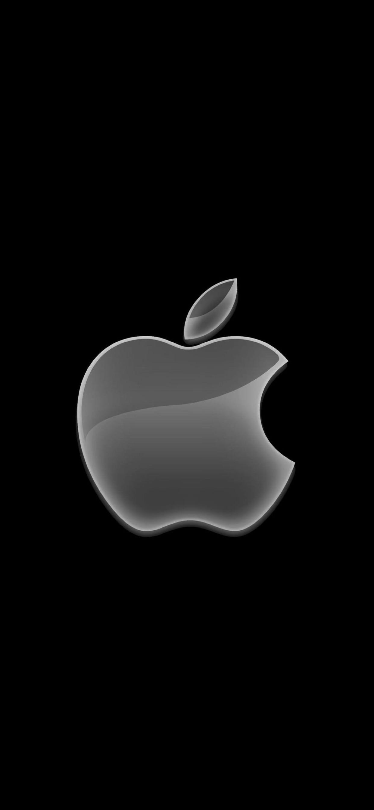 Download Iphone Xs Max Wallpaper Apple Logo