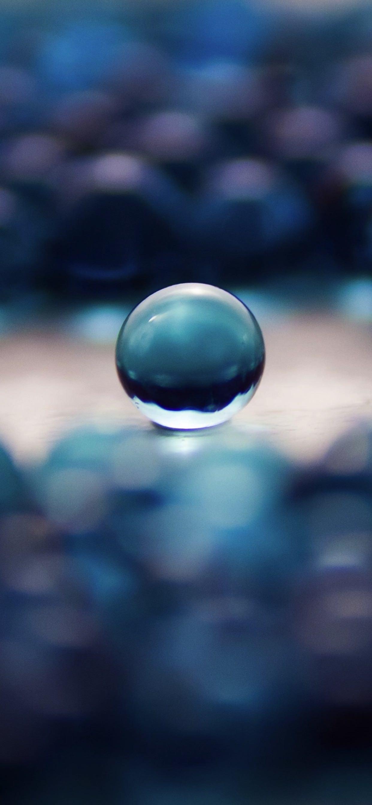 Cool Marbles Blue Wallpaper Sc Iphone Xs Max
