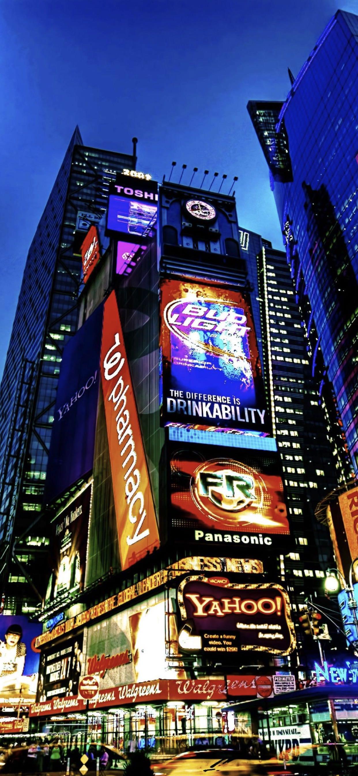 Edificio Paisaje Urbano Paisaje Times Square Wallpapersc